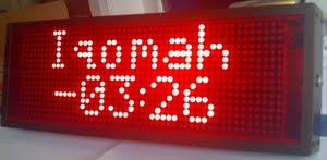 Iqomah Countdown